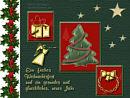 ein frohes Weihnachtsfest und ein gesundes, glückliches neues Jahr