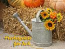 Herbstgrüße für dich