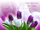 herzliche Grüße ... Frühling