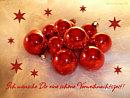Ich wünsche Dir eine schöne Vorweihnachtszeit