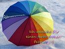Februarwunsch: Ich wünsche Dir einen farbenfrohen Februar