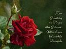 Zum Geburtstag von Herzen alles Gute und Gottes Segen fürs nächste Lebensjahr